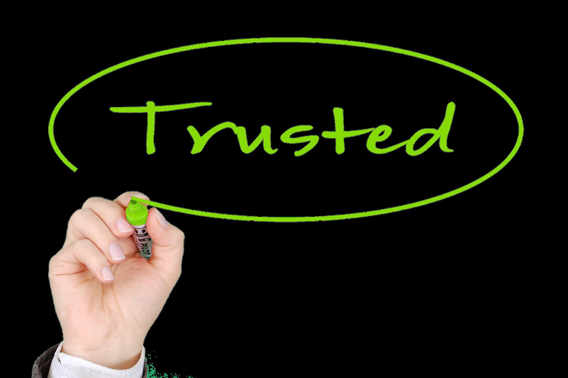 Vertrauen verkauft immer